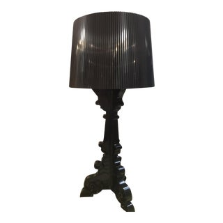 Kartell Black Bourgie Lamp