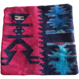 Dhurrie Rug Pillow Cover