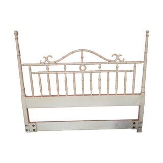 Drexel Faux Bamboo Full/Queen Headboard