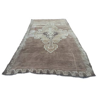 "Vintage Turkish Oushak Runner - 5'9"" x 11'7"""