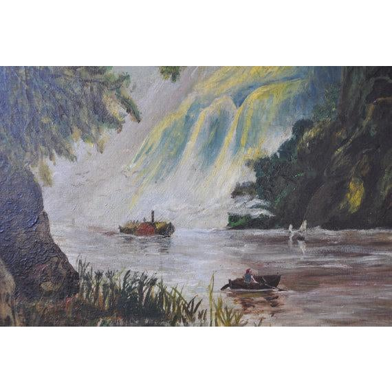 Louise Pickard - Oil on Canvas - Landscape C. 1910 - Image 4 of 5