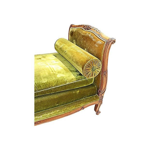 Louis XV-Style French Antique Daybed - Image 4 of 6