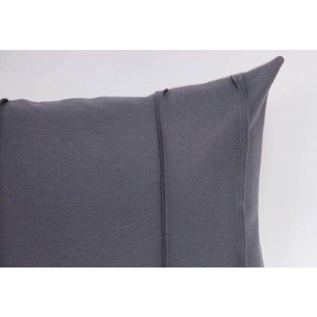 Wool Felt & Canvas Pillow - Image 4 of 4