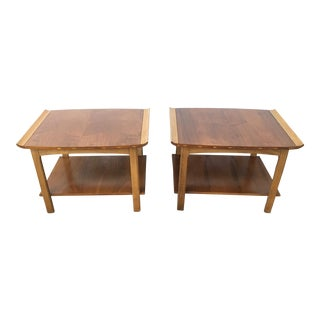 Mid_Century Modern Lane End Tables - A Pair