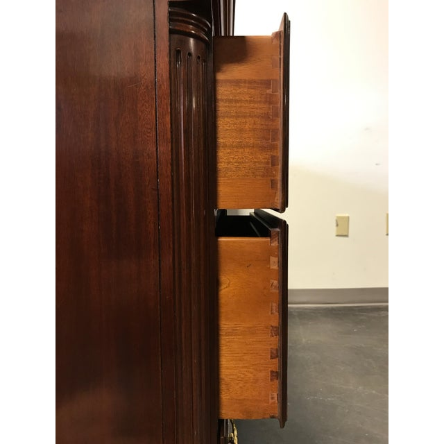 High End Mahogany Chippendale Triple 9-Drawer Dresser - Image 9 of 11