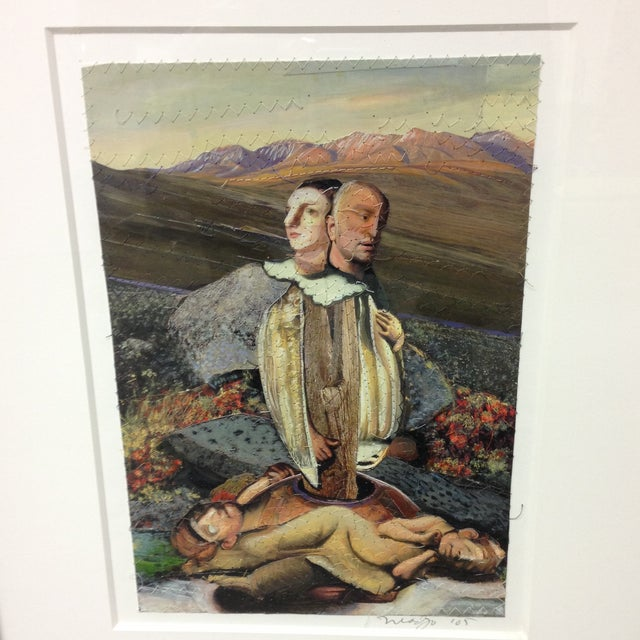 "Original Michael Madzo Signed ""Emerging Couple"" - Image 3 of 11"