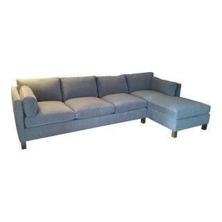 Kravet Modern Designer Sectional Sofa