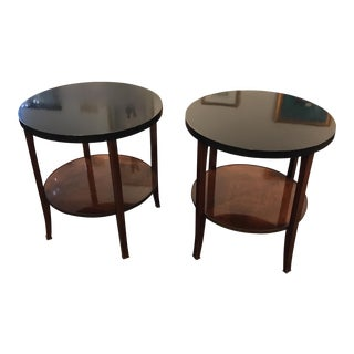 Baker Eclipse Side Tables - a Pair