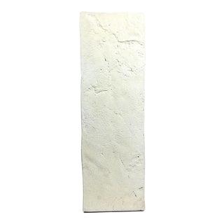 Vintage Sirmos Quarry Style Plaster Pedestal