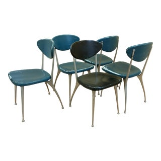 Mid-Century Modern Shelby Williams Gazelle Dining Chairs - Set of 5