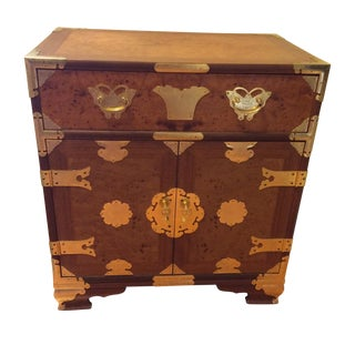 Oriental Style Side Table/Small Chest