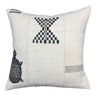 Vintage Mud Cloth African Textile Pillow