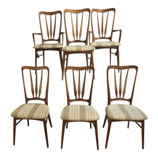 "Koefoeds Hornslet ""Ingrid"" Chairs - Set of 6"