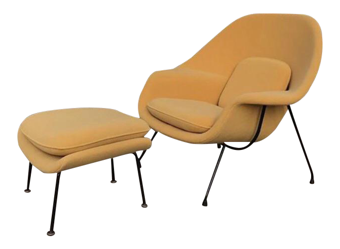 eero saarinen for knoll womb chair u0026 ottoman