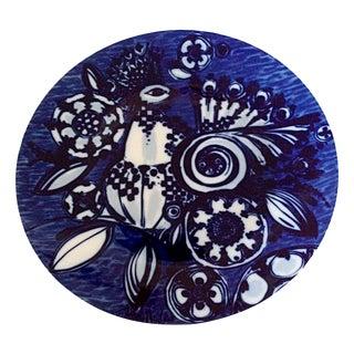 Mid-Century Rosenthal Platter Blue & White