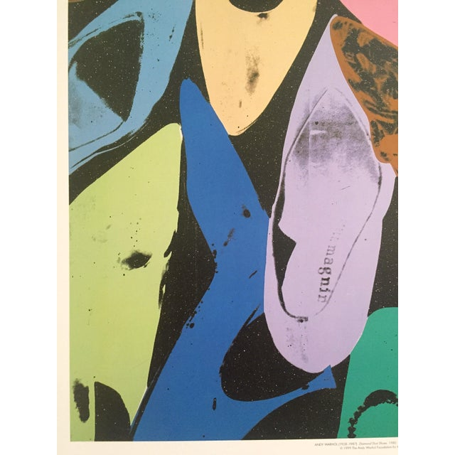 """Andy Warhol """"Diamond Dust Shoes"""" Offset Lithograph - Image 5 of 9"""