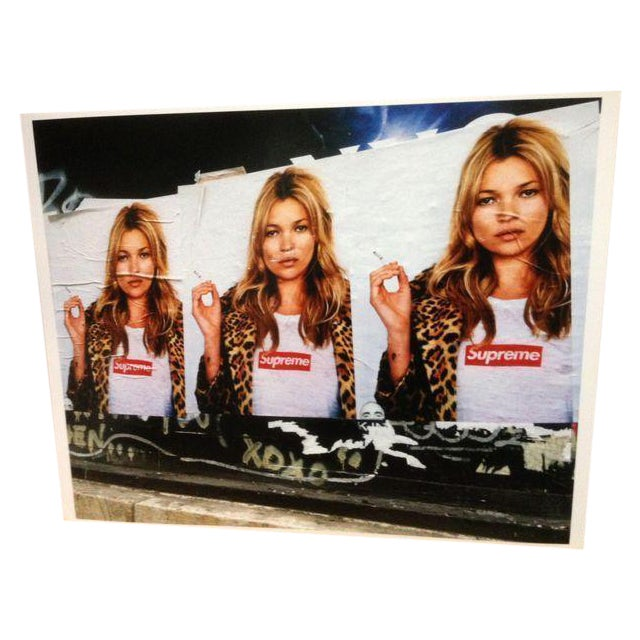 Image of Kate Moss Supreme Street Photopgraphy