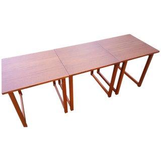 Kai Kristiansen Cube Nesting End Tables - Set of 3