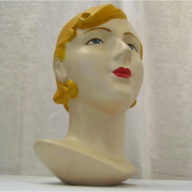 Blonde Vintage Mannequin Head - Image 6 of 6
