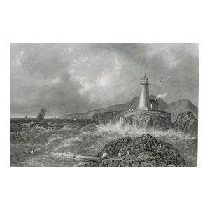 """""""Desert Rock Light House"""" Print"""