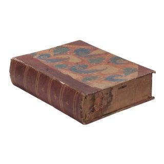 English Cardboard Box Book