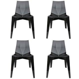Karim Rashid Faceted Side Chairs - Set of 4