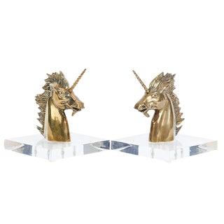 Sabin Unicorn Bookends - A Pair