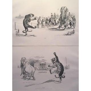 Charles Dana Gibson Art Nouveau Prints - A Pair