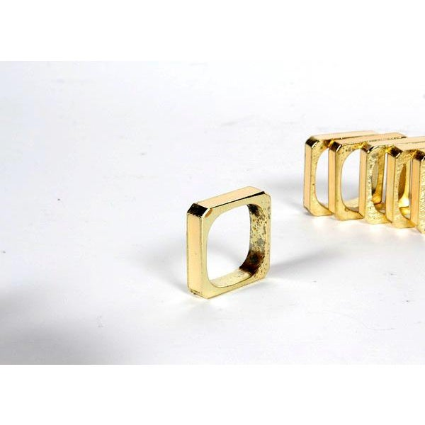Image of Bucklers 5th Ave Napkin Rings- Set of 12