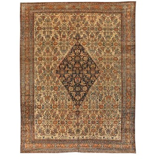Antique Persian Bibikabad Carpet