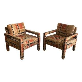 Vintage Drexel Parsons Chairs - A Pair