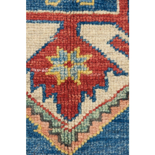 """Gabbeh Hand Knotted Area Rug - 5'2"""" X 5'10"""" - Image 3 of 3"""