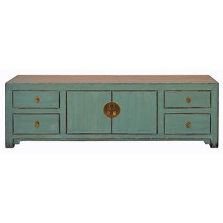 Chinese Distressed Low Television Console cs2031C