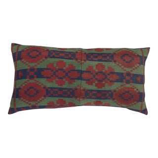 Southwestern Style Wool Blanket Pillow