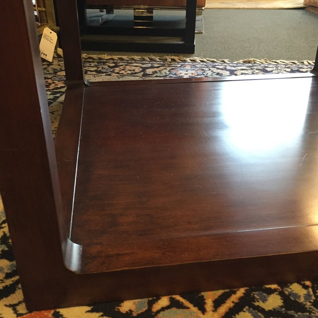 Custom Mirror Topped Side Table - Image 9 of 9