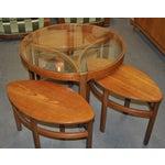 Image of Vintage 1960s Nesting Teak Coffee Table
