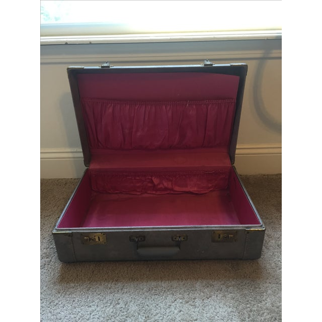 Image of 1940s Light Blue Suitcase