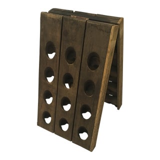 Antique French Riddling Rack