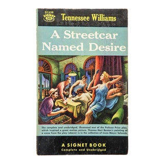Street Car Named Desire Pulp Paperback Book