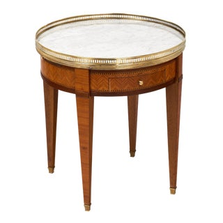 Vintage Rosewood Louis XVI Style Bouillotte Table
