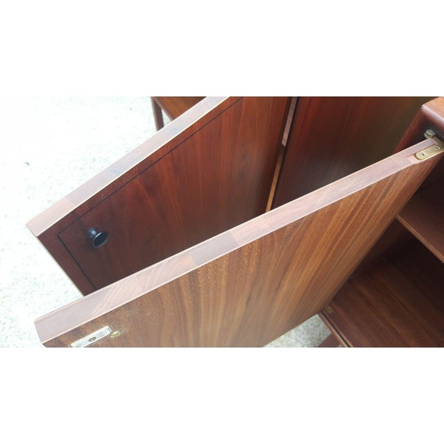 Milo Baughman for Arch Gordon Walnut Cabinets - A Pair - Image 10 of 11