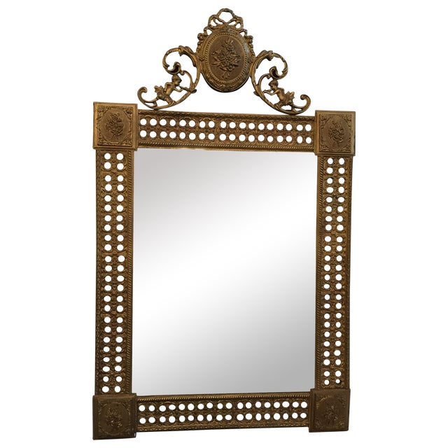 Gilded French Iron Mirrors - A Pair - Image 1 of 10