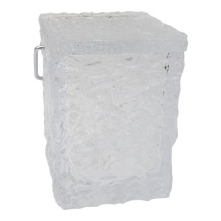 Ice Block Ice Bucket & Tongs