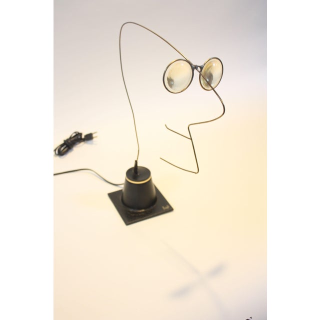 Image of 1970s Kinetic 'Yes Man' Sculpture by Gordon Bradt