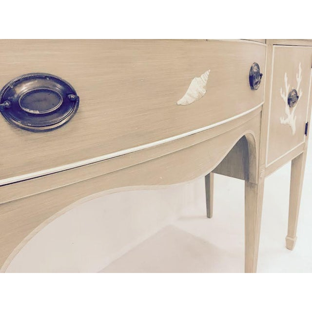 Image of Grand Rapids Chair Co Vintage 1940s Console Table