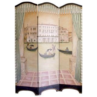 Venetian Style Folding Screen