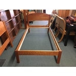 Image of Richard Bissell Solid Cherry Twin Bed