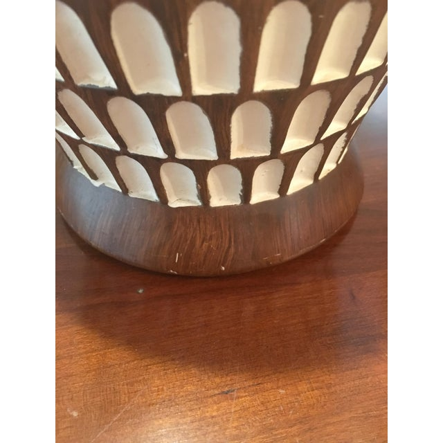 Image of Mid-Century Chalkware Table Lamps - A Pair