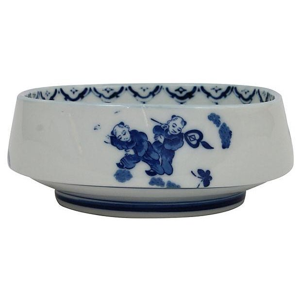 Antique Chinese Blue & White Bowl - Image 5 of 6
