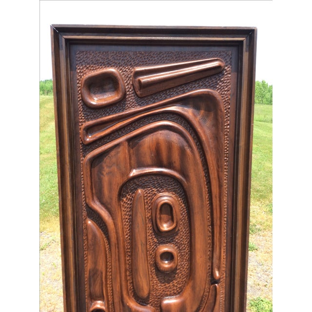 Witco Oceanic Style Bar Cabinet Tiki - Image 4 of 11
